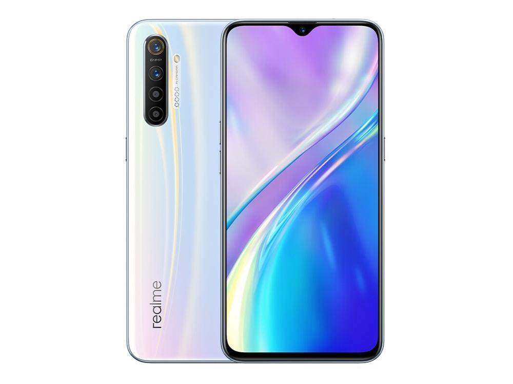 Сотовый телефон realme X2 X 2, 8 Гб 128 ГБ, NFC, экран 6,4 дюйма, Snapdragon 730G, 64-мега