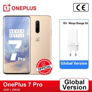 Глобальная прошивка OnePlus 7 Pro 6 GB 128 GB смартфон 48MP камера Snapdragon 855 6,67 дюймов 2 K + AMOLED экран разблокировка UFS 3,0
