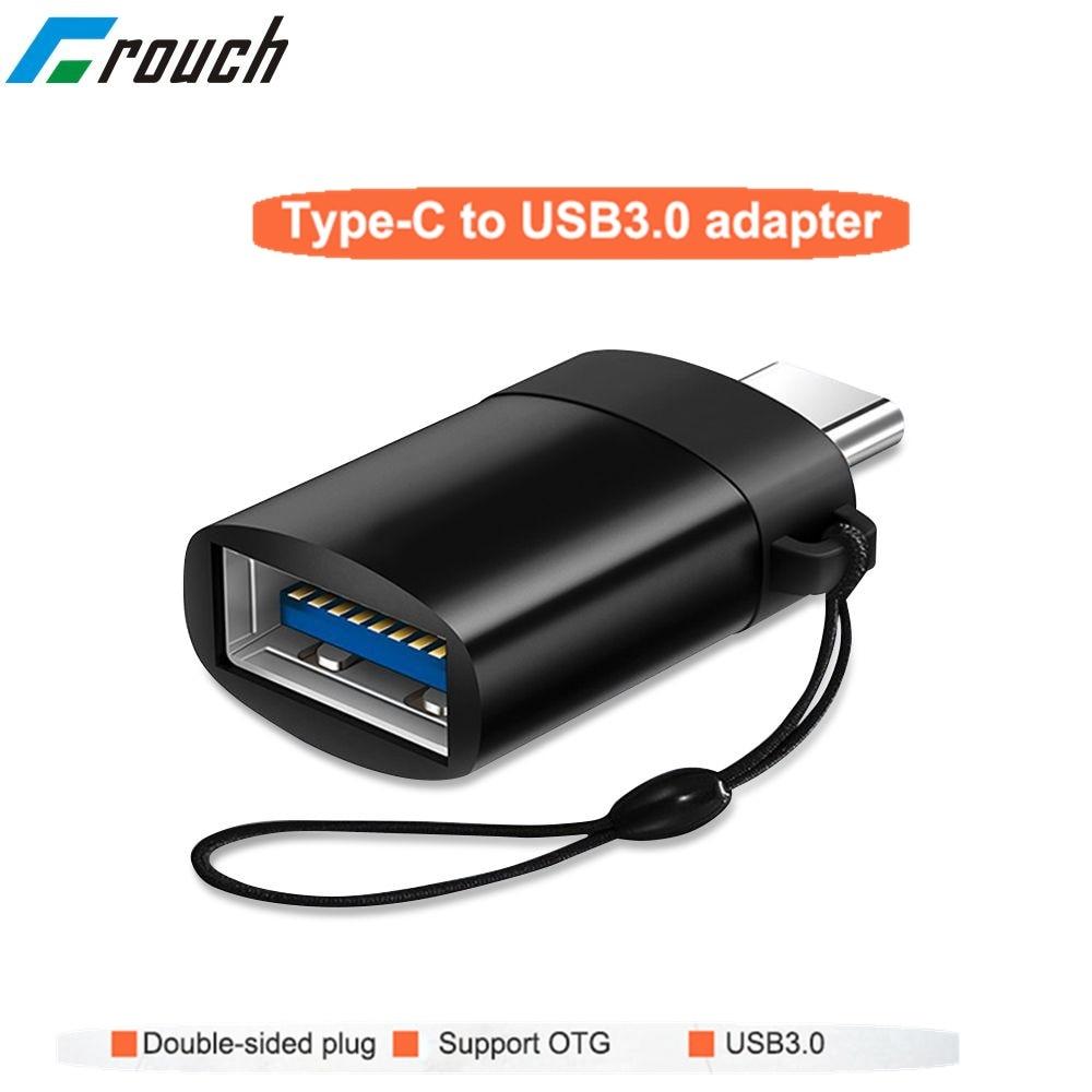 Adaptador OTG USB tipo C, tipo micro usb-c usb 3.0 conversor de dados e carregador para Samsung Galaxy s8 s9 note 8 a5 2017 one plus usbc