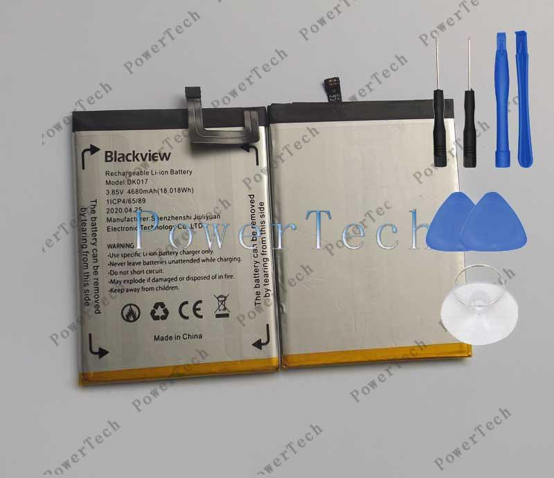 Bateador Original Blackview A80 pro teléfono móvil 4680mAh capacidad alta calidad reemplazo batería para Blackview A80 Pro