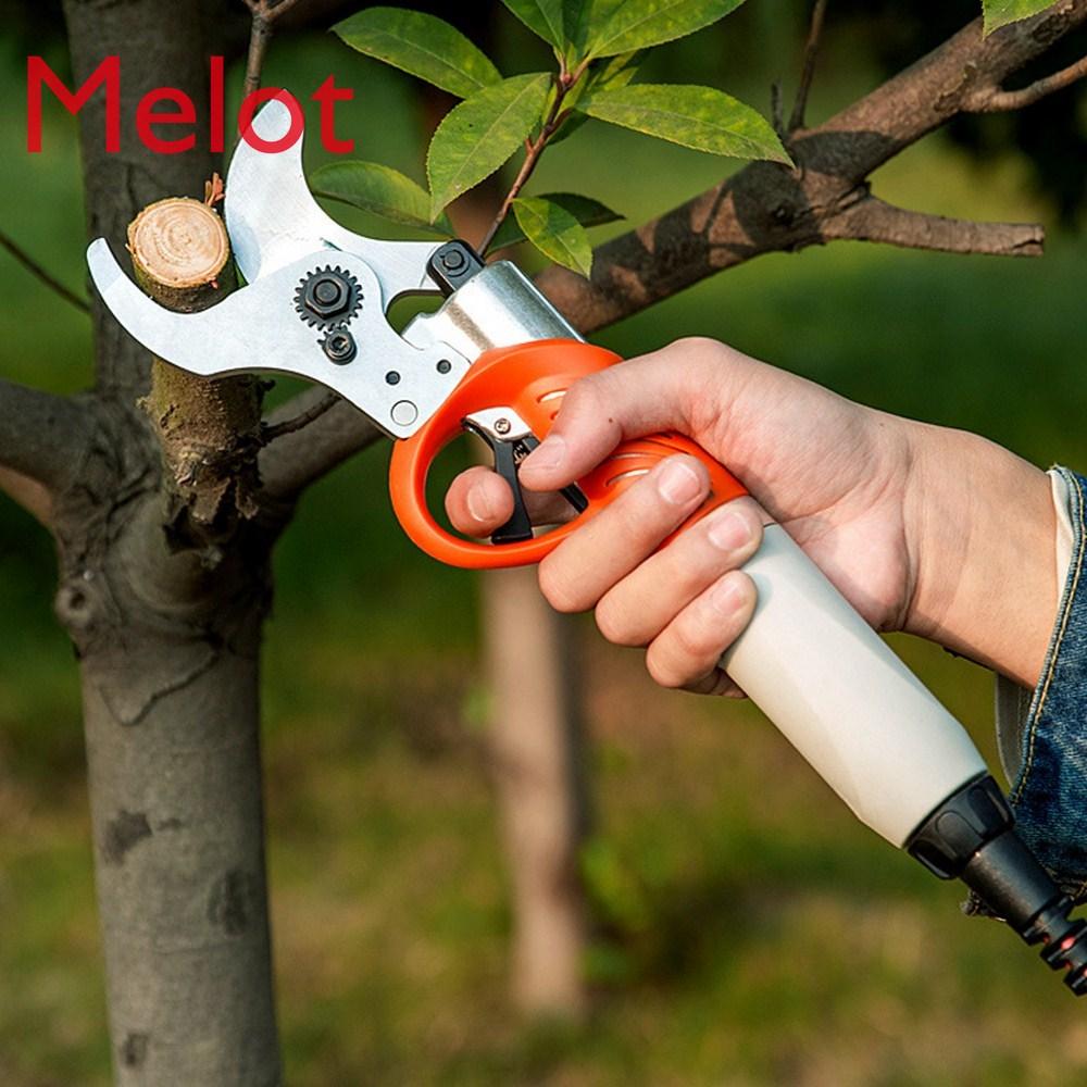 450W Electric Shears Pruner 36V 4400mah Lithium Battery Pruning Shear Orchard Scissors For Fruit Tree Garden