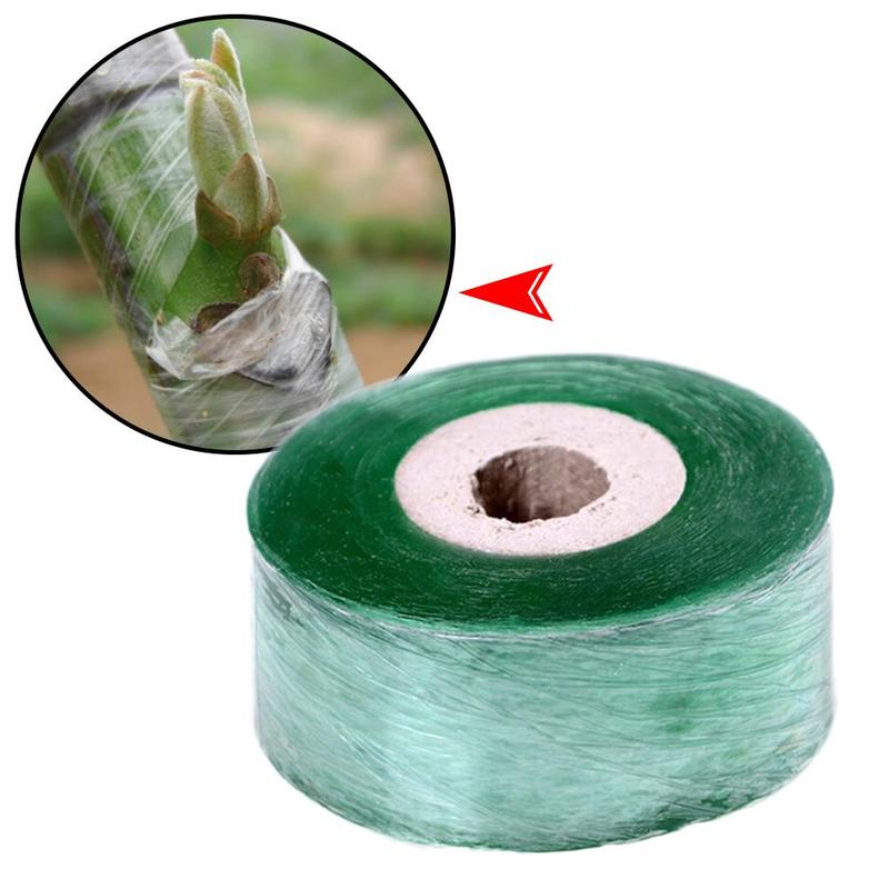 2cm x 100m cinta de unión de jardín estirable impermeable elástico autoadhesivo injerto Mucosa película especial árboles frutales herramientas de siembra