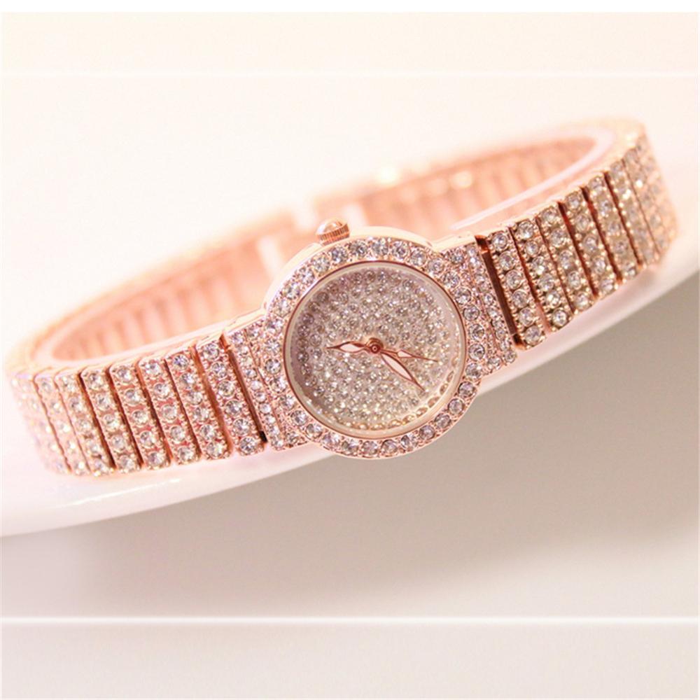 Women Watch Famous Luxury BS Brands Diamond Quartz Ladies Watch Female Small Wristwatch Rose Gold Watch Women Montre Femme 2020 enlarge