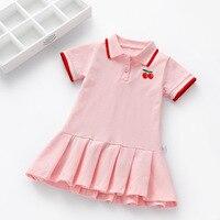 Платье в разноцветную полоску #2