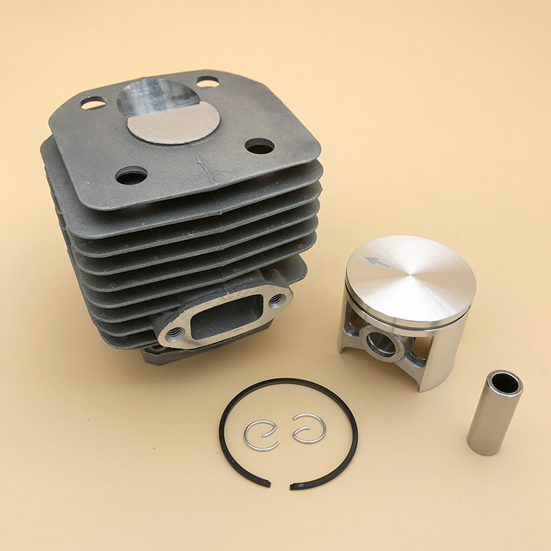 HUNDURE 48mm Cylinder Piston Kit For Husqvarna 262XP 261 262 Gas Chainsaw Spare Parts 503541171