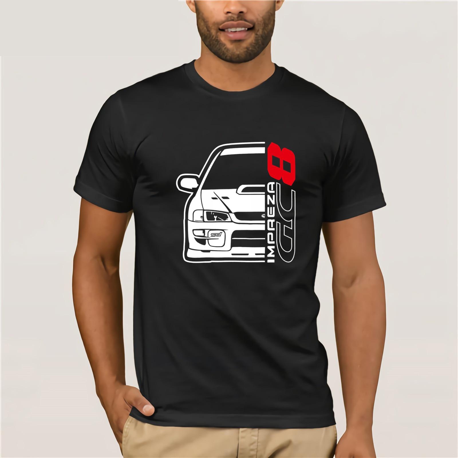 Moda para hombre, marca Fitness Slim Fit Japón Car Impreza Gc8, camiseta estampada a la moda, camiseta estampada, La camiseta más caliente del mundo