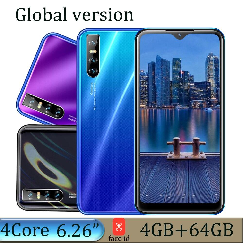 Smartphone s5 Pro, versión Global, Pantalla Completa gota de agua de 6,26...