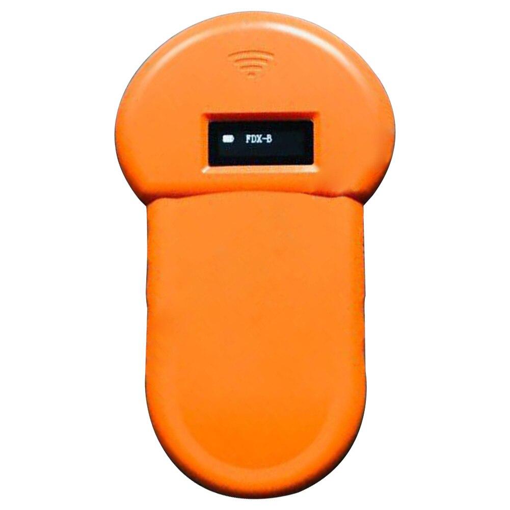 134,2 Khz ABS casa Microchip escáner ID de animales lector FDX-B USB recargable perro estable de baja frecuencia de mano portátil