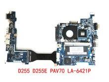 HOLYTIME ordenador portátil placa madre para ACER D255 D255E PAV70 LA-6421P MBSDH02002 MB SDH02.002 N455 CPU ddr3 100% probado