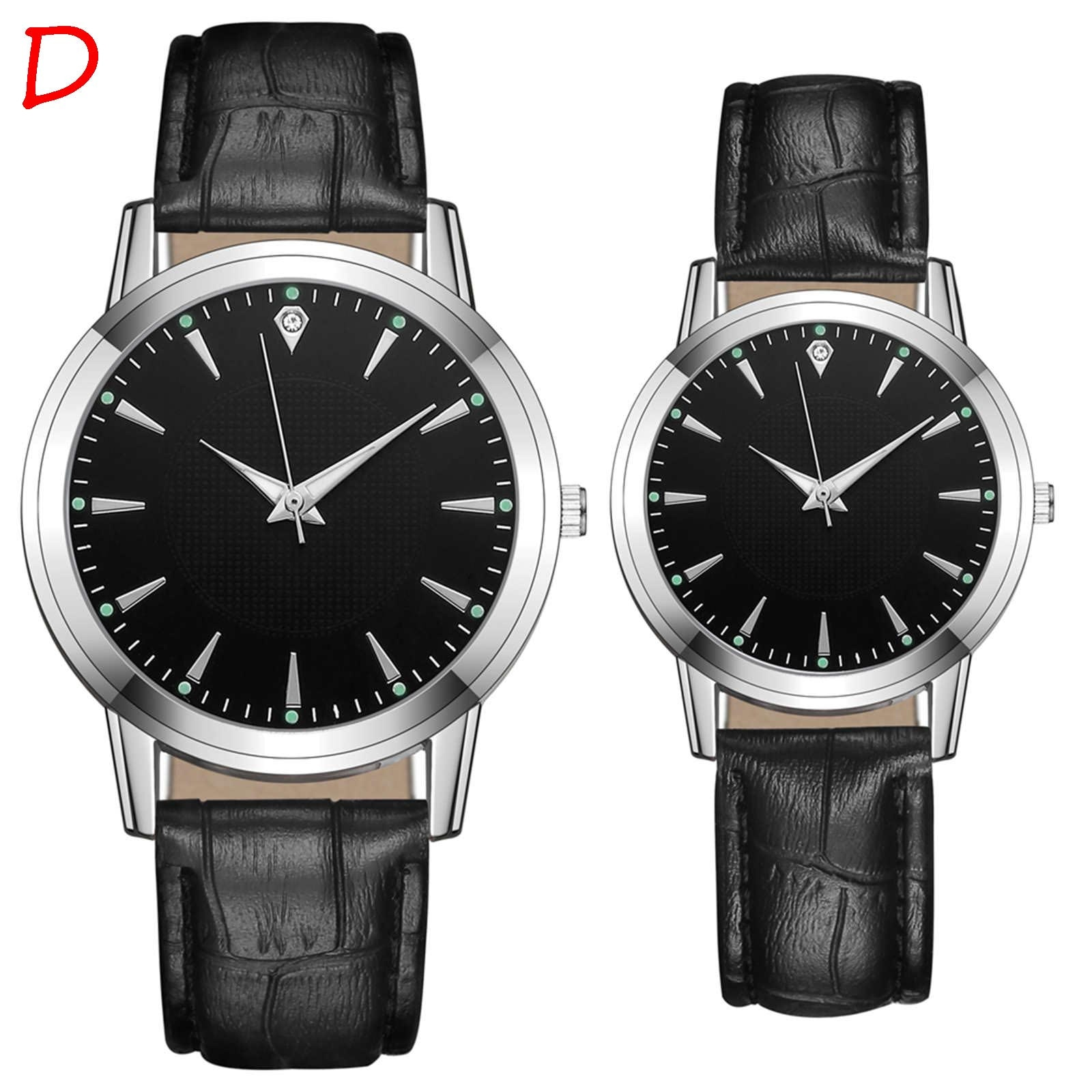 2pcs Luxury Brand Women and Mes Watches Japanese movement Couple Watch Fashion Quartz Ladies Stainle