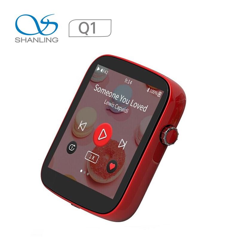 Shanling Q1 المحمولة لاعب ES9218P DAC/أمبير اتجاهين بلوتوث مرحبا الدقة 32Bit/ 384KHZ ايفي الموسيقى لاعب
