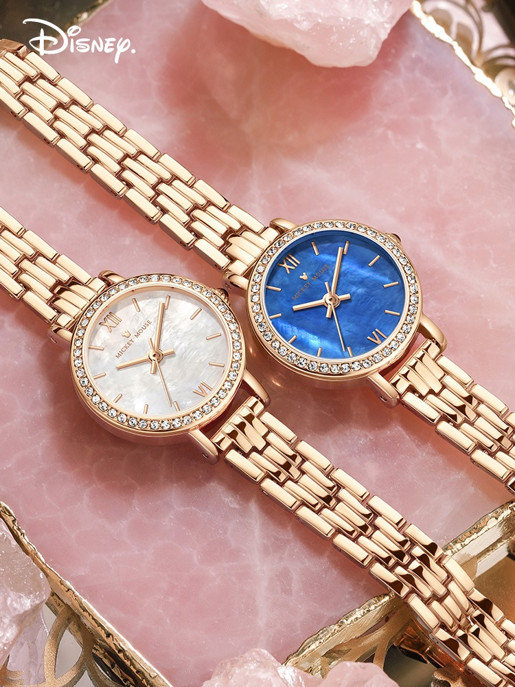 Authentic Disney Ladies Watch Famous Brand Authentic Exquisite Compact Waterproof Mechanical Niche Design Light Luxury Gift Box enlarge