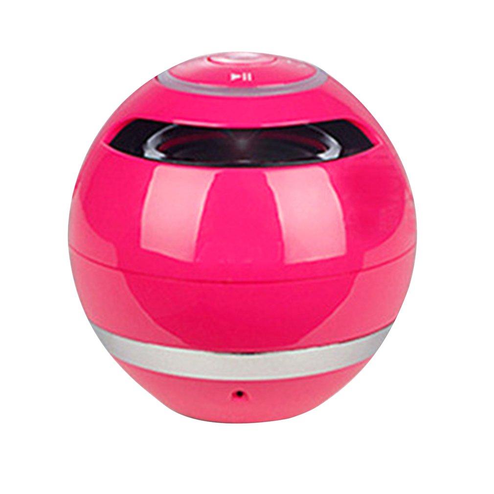 Altavoz Bluetooth portátil bola inalámbrica Mini manos libres TF FM Radio con micrófono MP3 globo Audio caja de música para el teléfono PC