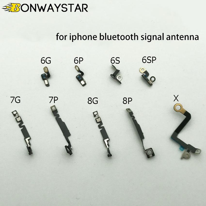 Cable flexible de señal de antena Bluetooth 1 piezas para iPhone 6 6 Plus 6S 6S Plus 7 7 Plus 8 8 Plus X XS X piezas de repuesto