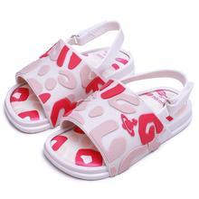 Mini Melissa Beach Slide Sandal Little Girl Boy Jelly Shoes 2020 Baby Shoes Melissa Sandals Kids Jelly Shoes Zandal SH19081