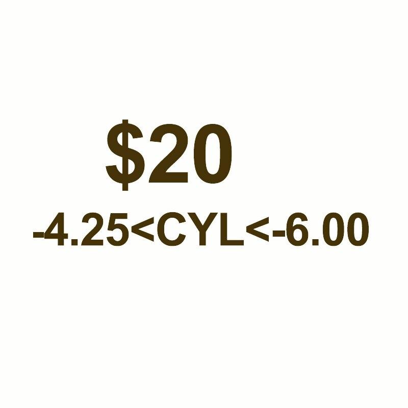 الاستجماتيزم سيل 4.25 إلى 6.00 العدسات وصفة طبية مخصصة ، واستخدام تكلفة إضافية فقط ، وهذا لا يمكن أن يكون الطلب وحده.