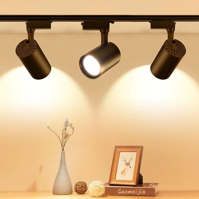 iluminacao de led para pista cob 12w suporte para teto lampada decorativa iluminacao para lojas