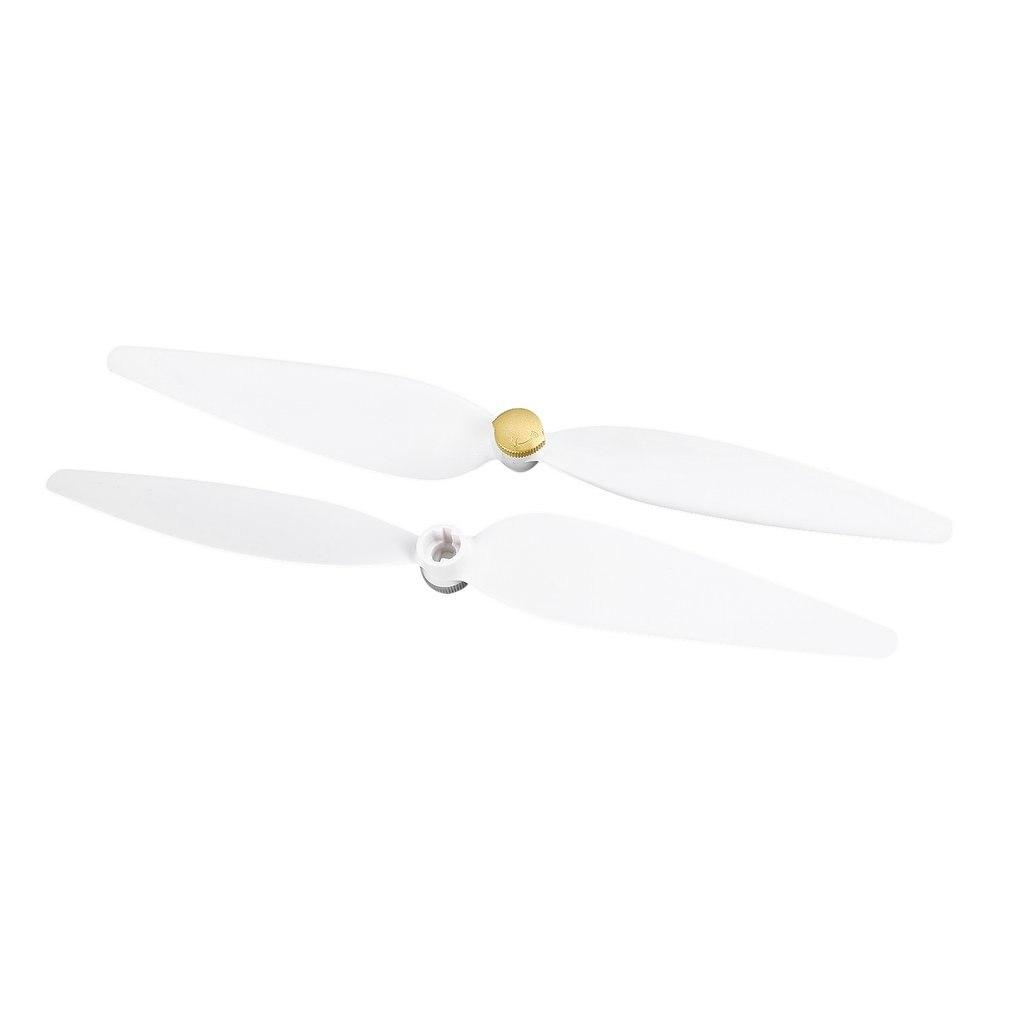 2 pares/set original cw + ccw hélice conjunto para xiaomi mi zangão 4k versão fpv zangão rc quadcopter peças de reposição lâminas