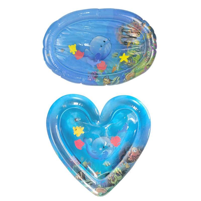 Dla dzieci wodna mata do zabawy lodu Pad nadmuchiwane zagęścić pcv dla dzieci brzuszek Playmat
