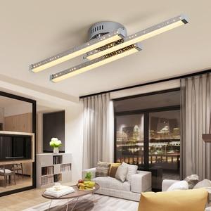 Indoor lamp Modern Led Chandelier Lighting Ceiling mounted Hanging Lamps For Living Dining Room Bedroom new Lights AC110-260V