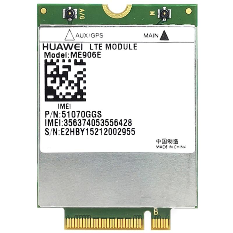Desbloqueado ME906E + 2 uds IPX4 NGFF M.2 antena FDD LTE 4G WCDMA GSM apoyo módulo GPS en Stock