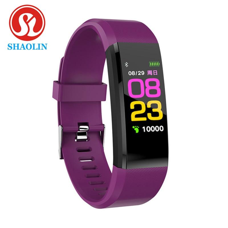 SHAOLIN Smart Bracelet Watch for Men Women Smart Wristband Fitness Tracker Pressure Sport Watch Heart Rate Monitor Band A2