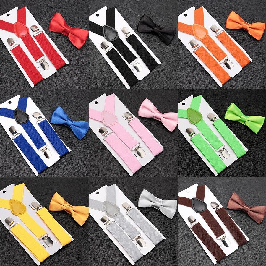 Conjunto de tirantes con pajarita para niños y niñas... Tirantes ajustables y...