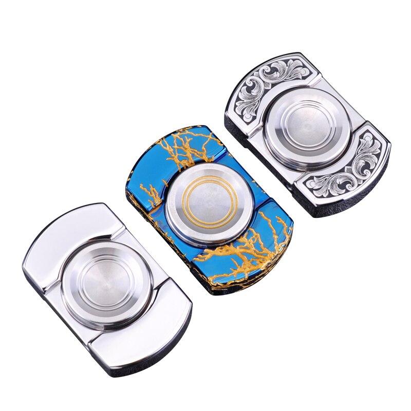 Seiko fingertips gyro 316 steel carve patterns or designs on woodwork UK car fingers gyro EDC fidget ring fidget spinner enlarge