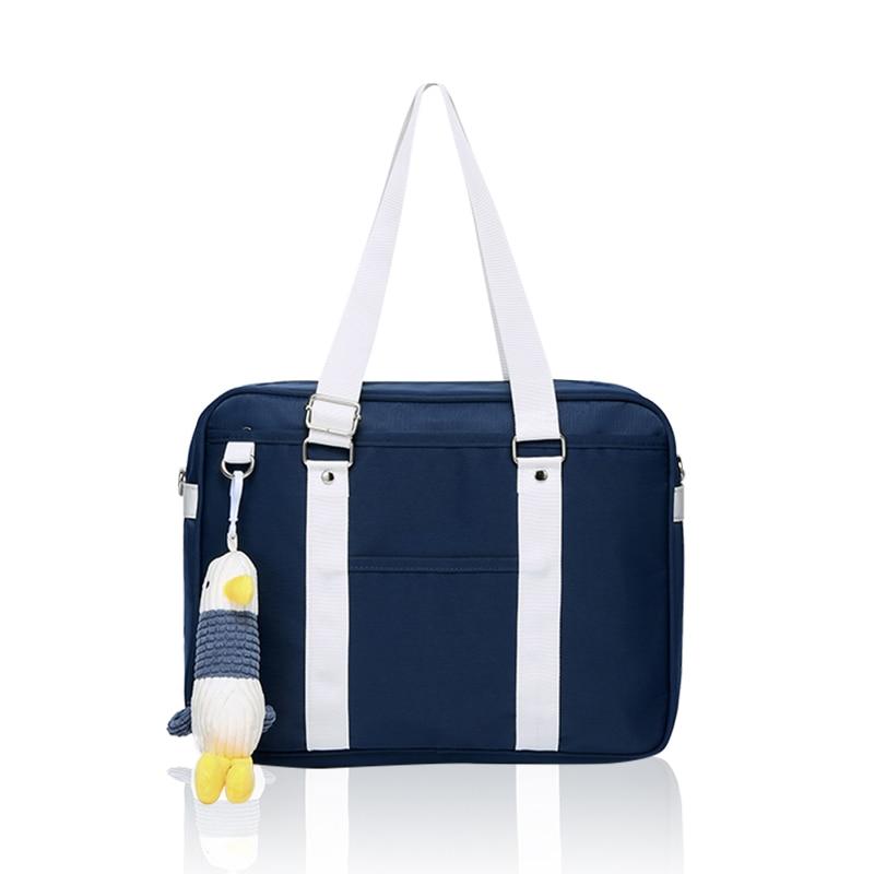 حقيبة يد مدرسية جديدة لفتاة حقيبة كمبيوتر محمول عادية 13.3 14 15 بوصة حقائب الكتف Crossbody للأزياء امرأة حقيبة ساعي