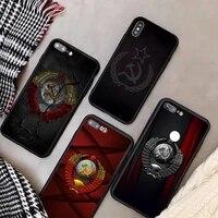 ussr soviet emblem phone case for xiaomi mi6 mi8 mi9 mi10 mi11 mi8se mi9se mi10pro mi6x pro ultra note cover
