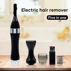 5 In 1 Trimmer Electric Precision Shaver Styler And Hair Removal Tool Portable Sleek Design For Women Home Use Devices -VL16