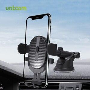 От Untoom присоски автомобильный держатель для телефона на магните Автомобильная присоска-держатель телефона Подставка под мобильный телефон приборной панели автомобиля GPS крепление для iPhone 12 X Xiaomi Redmi