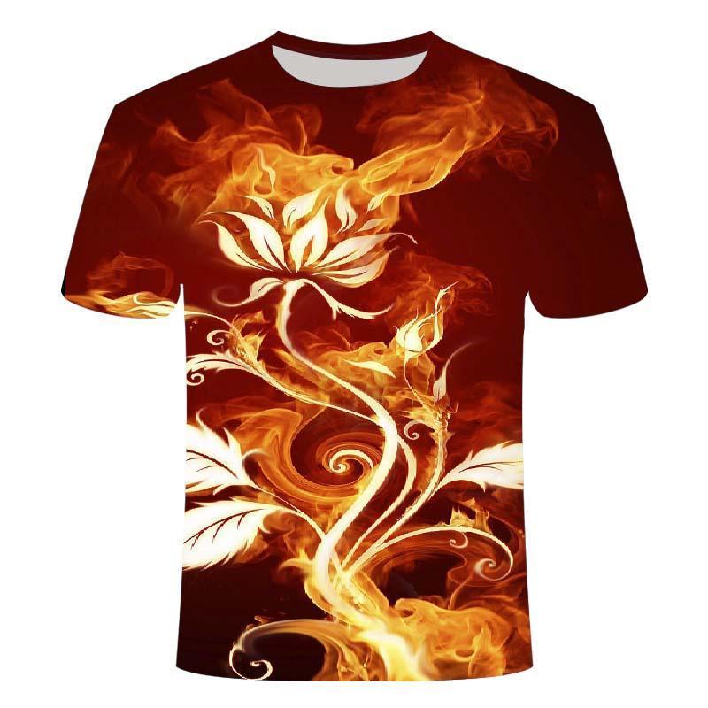Camiseta 3d para hombre, Camiseta negra informal, Camiseta de manga corta, Camiseta...