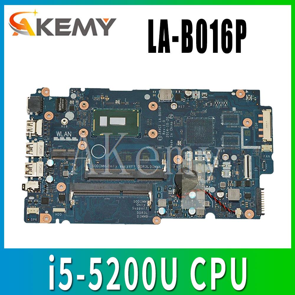 Placa base de ordenador portátil ZAVC1 CN-0FMCTC rev 5448 placa base de LA-B016P nuevo i5-5200U FMCTC para Dell Inspiron 5548 1,0