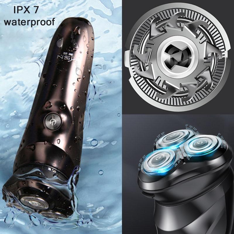 Smart Electric Shaver beard shaving razor Beard timmer for men IPX7 shaving machine man LCD Display shavers xiao mi Youpin