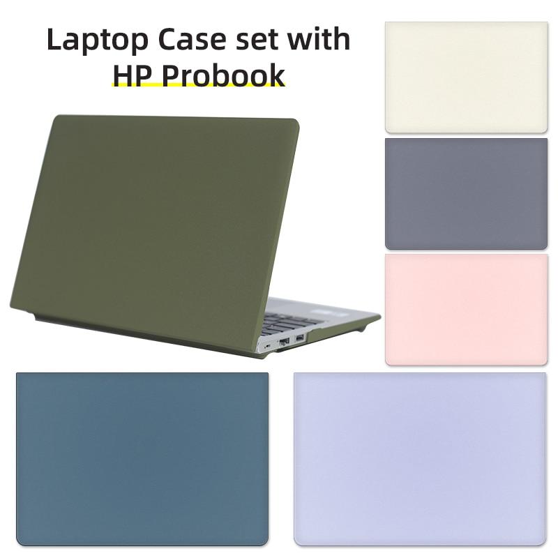 Aplique a hp probook 440 g8 14 polegadas estojo para portátil para pavilion 14-dv 14-ce proteção pvc capa de notebook de casca dura cor sólida