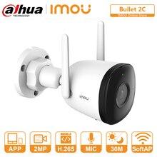 DAHUA Wifi IP Camera Outdoor Human Detection 98ft Night Vision Built-in Hotspot Sound Recording ONVI