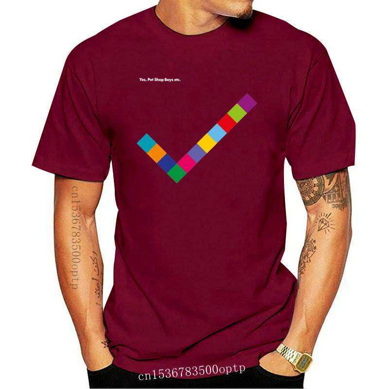 New Pet Shop Boys Yes Electronic Band Men's Black T-Shirt