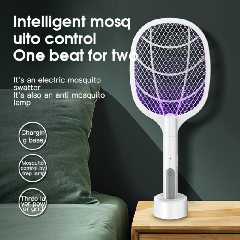 electric mosquito killer swatter home pest control handheld mosquito racket insect bug racket zapper fly mosquito killer trap Handheld Home Electric Fly Mosquito Swatter Racket Bug Racket Insects Killer Home Garden Pest Bug Anti Mosquito Fly Trap Lamp