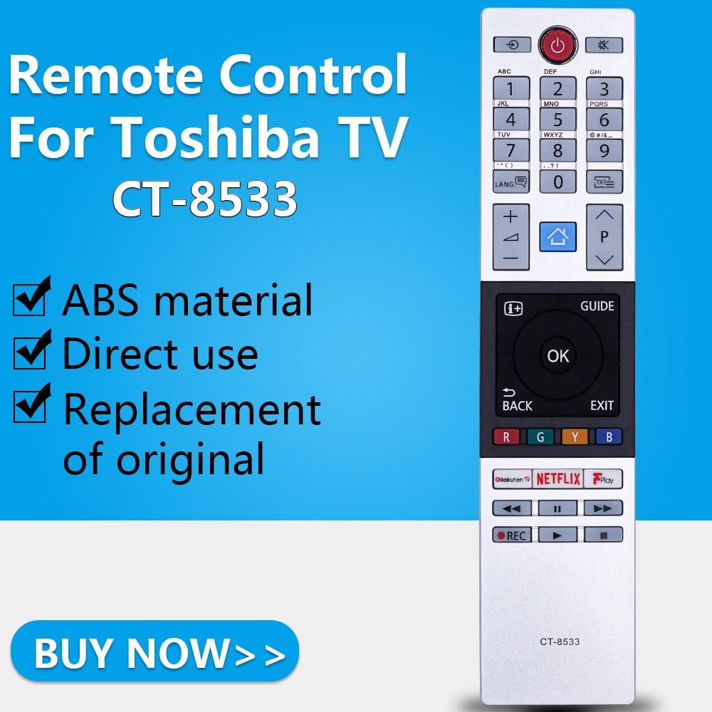 Controle remoto apto para toshiba tv sub CT-8533 substituído CT-8528