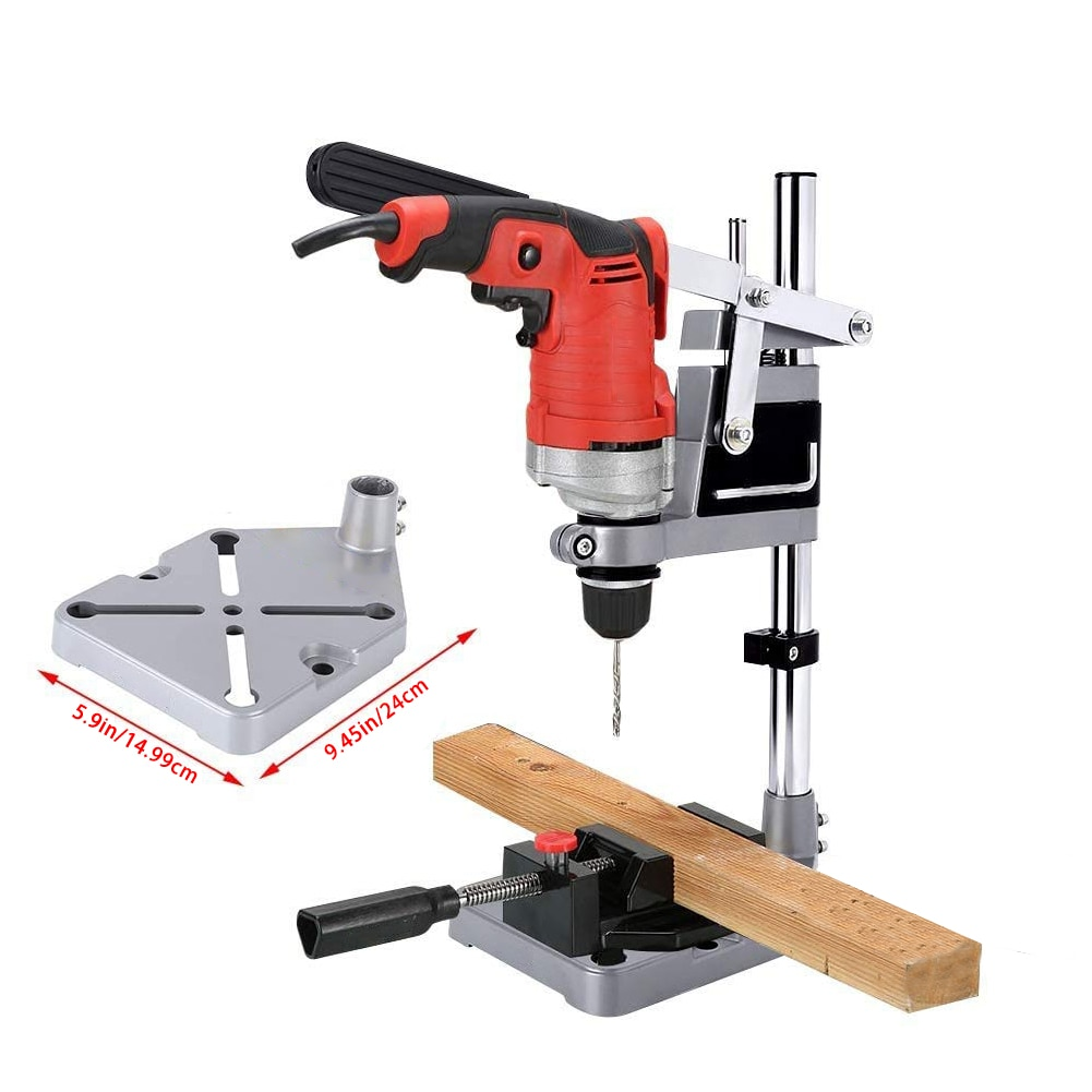 Hand Drill Stand Bench Drill Bracket Drill Clamp Base Frame Benchtop Electric Drill Press Stand Holder Power Tool Accessories enlarge