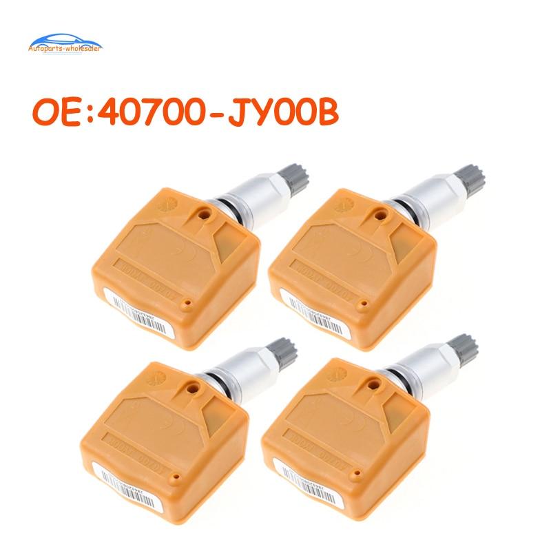 4 pcs/lot Quality!For Nissan infiniti 40700-JY00B 40700JY00B Car TPMS Tire Pressure Sensor Monitor S