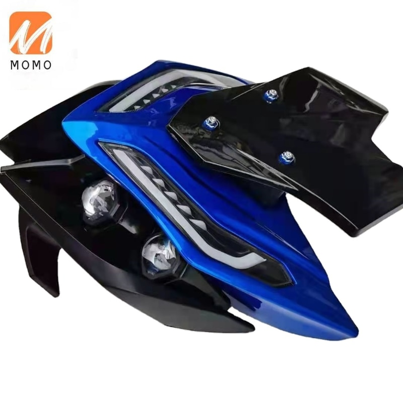 High quality the third generation electric bicycle wolf warrior modification of the front  Plastic parts made in China