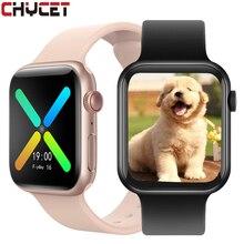 CHYCET IWO Smart Watch Men Dial Bluetooth Call Smartwatch Women Music Control Heart Rate Fitness Tra