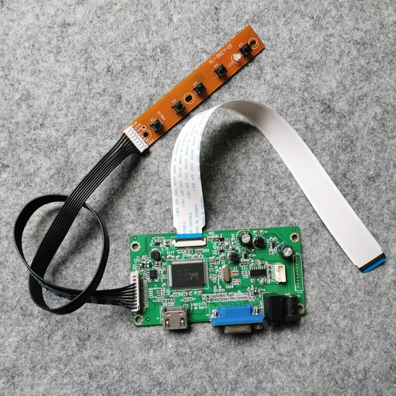 EDP 30-Pin لوحة تحكم مجلس 1920*1080 + VGA لتقوم بها بنفسك عدة WLED صالح LP125WF1/LP125WF2/LP125WF3/LP125WF4 LCD شاشة دفتر