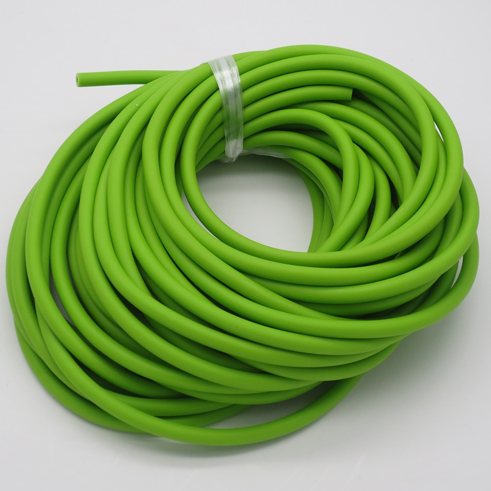 1M 2M 5M Slingshot Hollow Rubber Band Rope for Shooting Catapult Latex Tube Outdoor Hunting Bow and