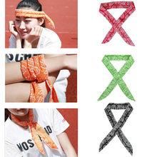 Hirigin Multi-Funktion Stirnband Neue Mode Sommer Hals Kühler Schal Körper Eis Kühlen Kühlung Wrap Krawatte Sport Stirnband Neu