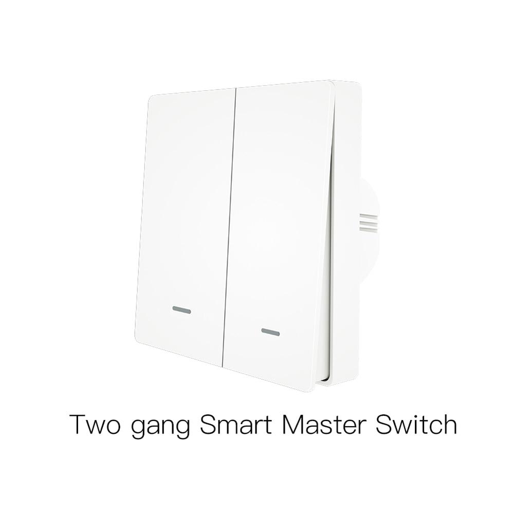 RF 433 WiFi Control remoto inteligente botón interruptor Panel de pared transmisor Kit vida inteligente Tuya App funciona