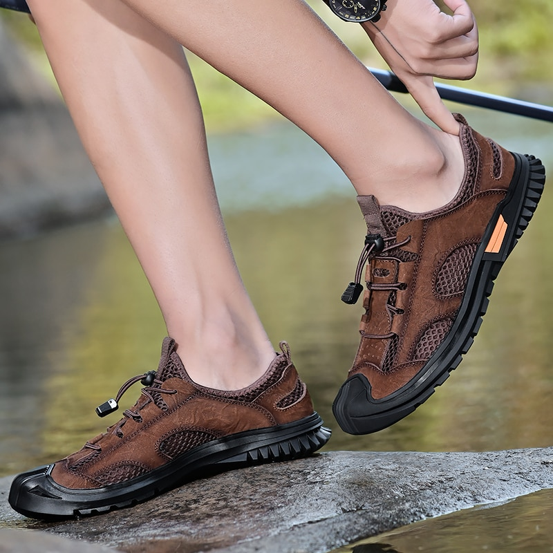 New Fashion Shoes Men Autumn Lace up Comfy Outdoor Walking Men Shoes Outdoor Breathable Flats Shoes Zapatos Hombre breathable outdoor shoes men breathable lace up casual shoes flats quality comfortable men shoes zapatos hombre