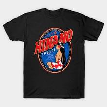 Мужская футболка HINANO TAHITI, женская футболка